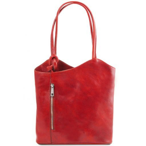 Joevany Tuscany Leather Patty Bag Red