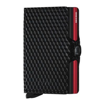 Secrid Twinwallet Cubic Black-Red