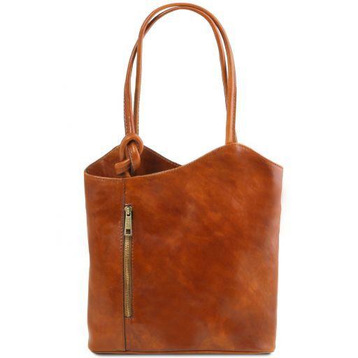 Joevany Tuscany Leather Patty Bag Honey 1